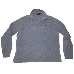 Ralph Lauren Polo 1/2 Zip Fleece Sweater